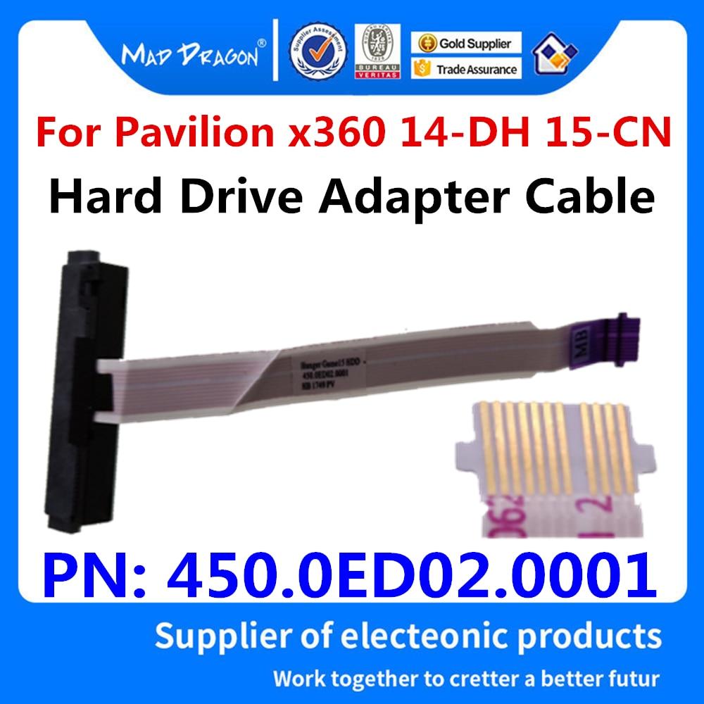 Cabo hdd para hp pavilion x360 14-dh0004la 14-dh0003tu 14-dh 15-cn 15-cn0007t portátil sata disco rígido adaptador fio 450.0ed02. 0001