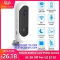 Батарея камера IP 1080P HD WiFi беспроводная домашняя охранная камера наблюдения ИК ночного видения перезаряжаемая сигнализация аудио низкая мощ...