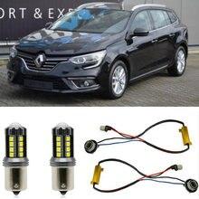 Mistlampen Voor Renault Megane 4 Iv Grandtour Hatchback Saloon Stop Reverse Back Up Lamp Voor Achter Richtingaanwijzer Fout gratis 2Pc