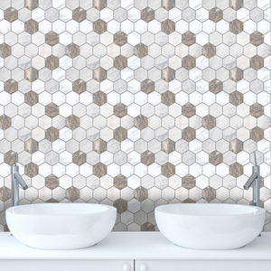 10PCS Kitchen Bathroom Brown W