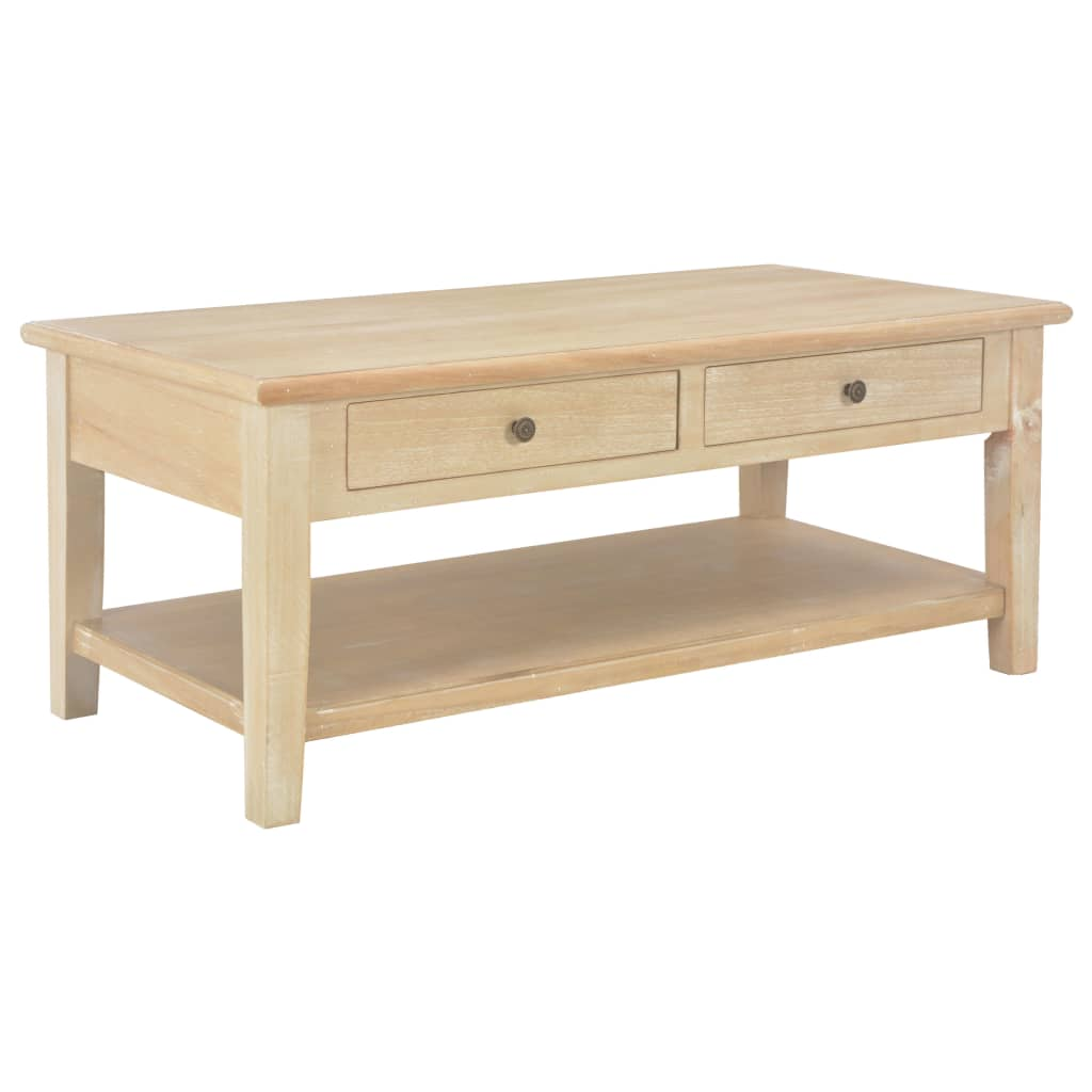 VidaXL Coffee Table 100x50x40 Cm Wood