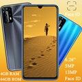 Мобильный телефон 5MP + 13MP 8A Pro, 4 Гб ОЗУ + 64 Гб ПЗУ, Android 7,0, разблокированные глобальные смартфоны, фронтальная/задняя камера, 6,26 дюйма, распознав...