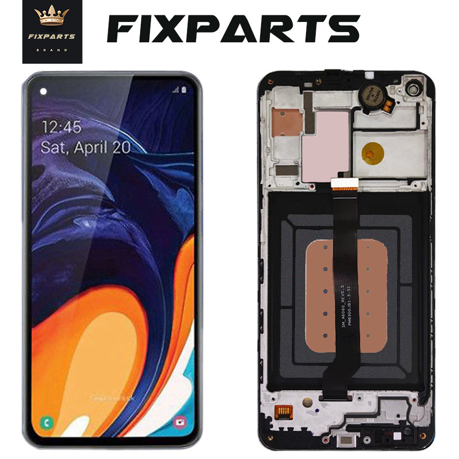 ORIGINAL SUPER AMOLED LCD for SAMSUNG Galaxy A60 A606 Display Touch Screen Digitizer Assembly A60 2019 A606F For SAMSUNG A60 LCD image