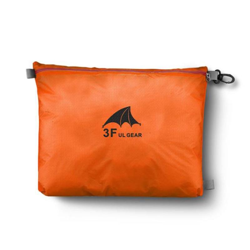 3F UL GEAR 15D Silicone 30D Cordura Waterproof Storage Bag Packing Clothing Debris Storage Bag Storage Bag Swimming Bag Wash Bag