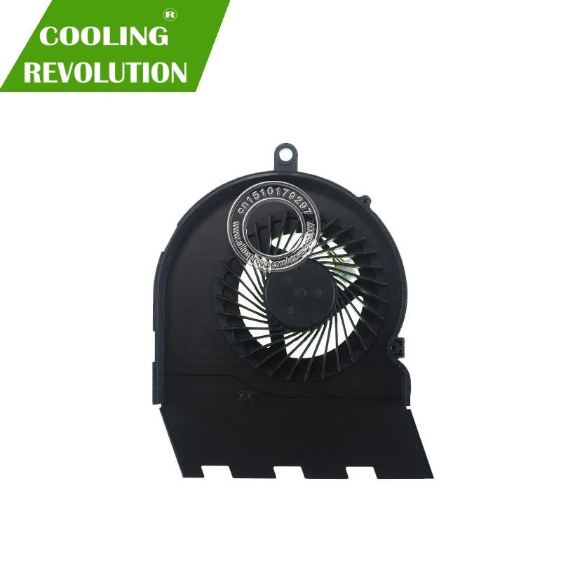 """Novo ventilador cpu original para dell inspiron 15.6 """"15 5567 17 5767 cpu ventilador de refrigeração refrigerador dc5v 0.45a"""