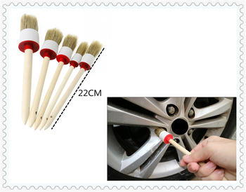 Car interior cleaning beauty detail wood brush screw auto fine wash for Ford Transit Ranger Mustang Ka Fusion Focus F-150 image