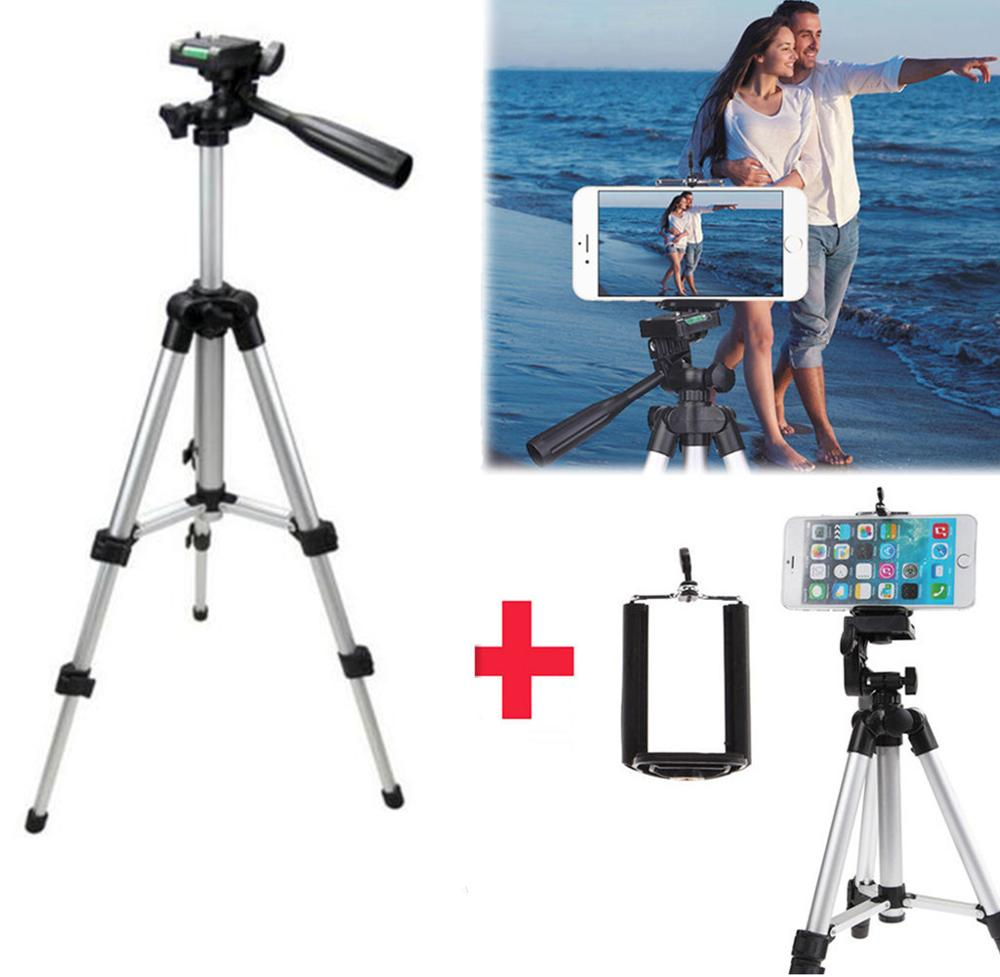 Professional Portable Foldable Camera Tripod Holder Flexible Phone Tripod Stabilizer for iPhone XR 11 Samsung S9