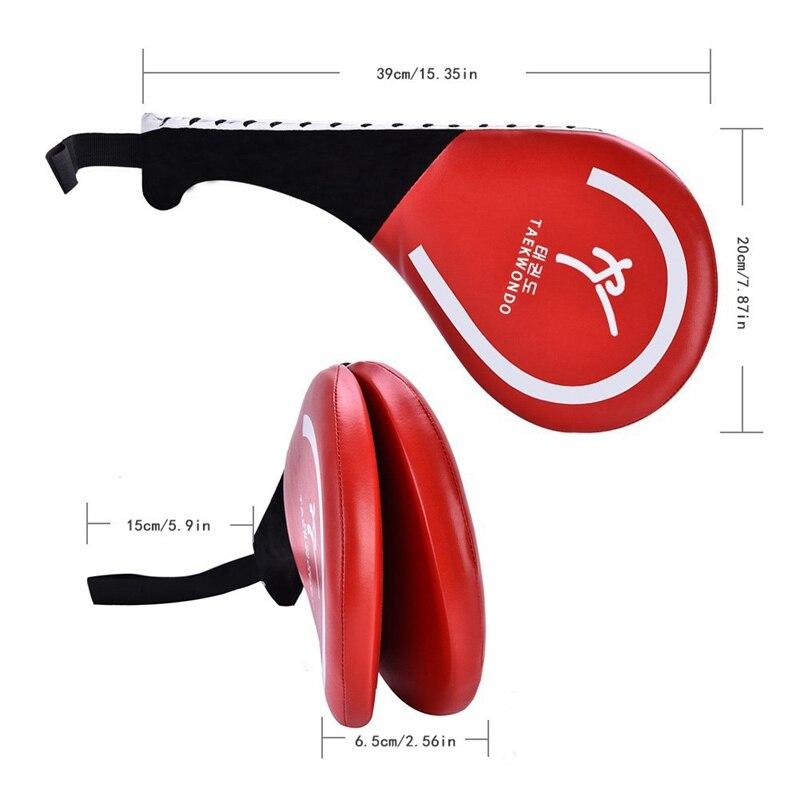 Тхэквондо мишень для ног три основные руки мишень практика мишень боксерский коврик каратэ тренировочный двойной лист мишень для тхэквондо