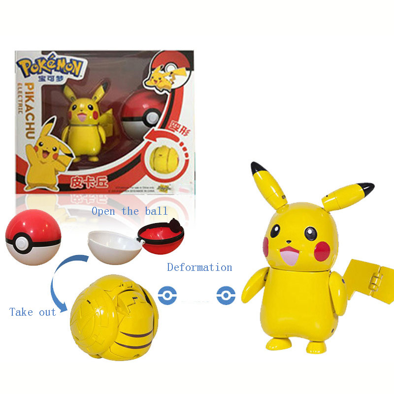Ball Pokemon Transforming Toys 1