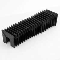 40cm x 5cm x 5cm Accordion Shape Stretchy Dust Protective Cover for CNC Machine