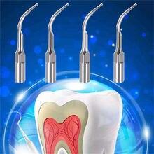 Embouts de détartreur dentaire pour EMS DTE, outil de détartrage ultrasonique, pièce à main, équipement dentaire, dentiste, 4 pièces