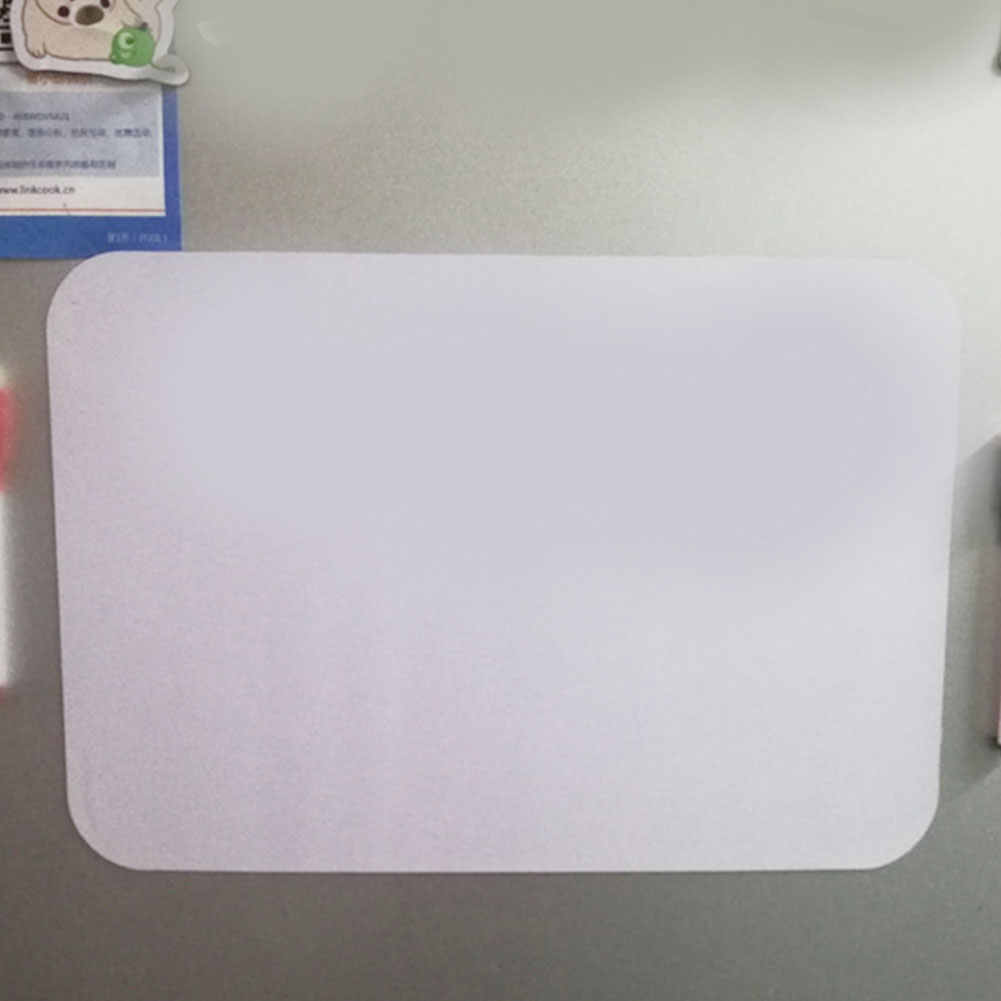 Refrigerator Memo Pad Soft Magnetic Whiteboard Practice Writing Write Plans Portable Leave Messages Message Board Durable