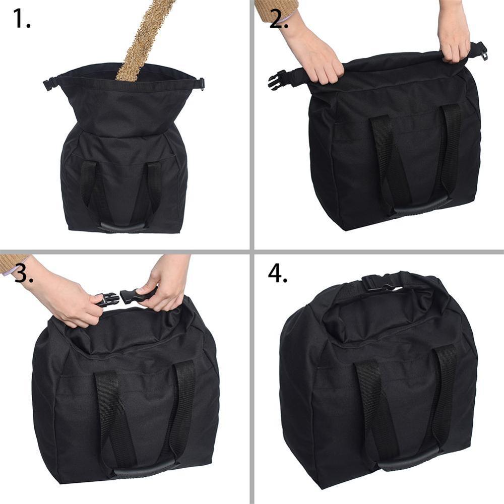 Купить с кэшбэком Practical Large Pocket Weightlifting Sandbags Fitness Training Adjustable Perfect for Travelling Or Exercising Wholesale CSV