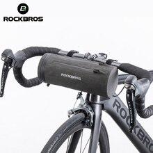 ROCKBROS Водонепроницаемая велосипедная сумка передняя велосипедная сумка MTB Дорожная корзина для руля велосипеда Многоцелевой большой вместительный рюкзак велосипедная трубка сумка