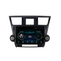 quad core Android 8.1 Fit TOYOTA Highlander 2009 2010 2011 2012 2013 2014 Multimedia Stereo Car DVD Player Navigation GPS Radio