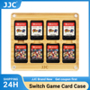 JJC Transparent Switch Game Card Case Portable Holder Cover Box for Nintend Switch NS Cards Magnet Protector Game Accessories