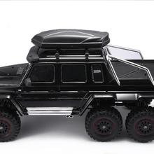 LeadingStar Roof Trunk Luggage Rooftop Storage Box for 1/10 TRX6 G63/TRX4 G500 Axial SCX10