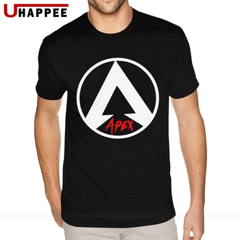 Classic Apex Legends Tee Shirts Mens Cheap Custom Short Sleeve Red Crew T Shirts 1