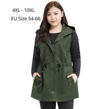 Women Sleeveless Vest Ladies Coats Hoodied Cardigan Outwear Spring Autumn Plus-Size Fashion