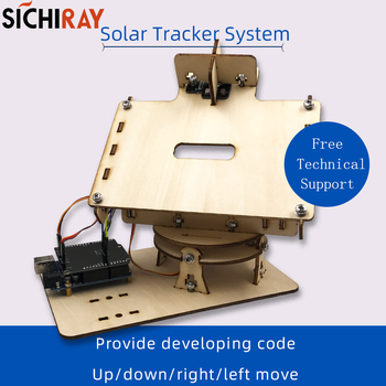 """Everything Is Solar™ Dual Axis """"Smart"""" Solar Tracker Kit"""