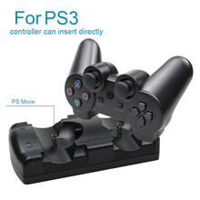 Para sony ps3 para mover controlador carregador usb cabo alimentado doca de carregamento para playstation 3 mover joystick gamepad controle