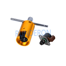 Bomba de injeção de combustível f01a unidade de válvula de medição imv desmontagem removel extrator ferramentas para delphi
