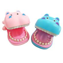 LANDZO Funny Gag Prank Toys LED Electronic Toys Hippo Biting Finger Game for Children,Kids Adult Bar Game Gift