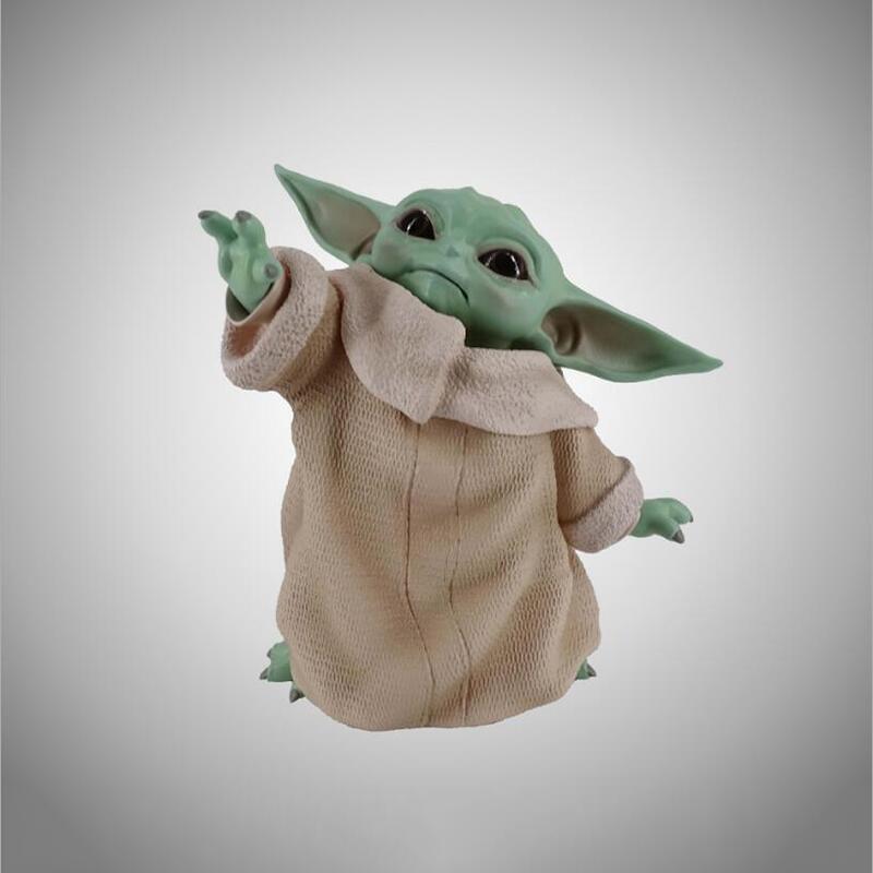Новые игрушки из ПВХ для детей StarWars Yoda, строительные блоки, игрушки для детей
