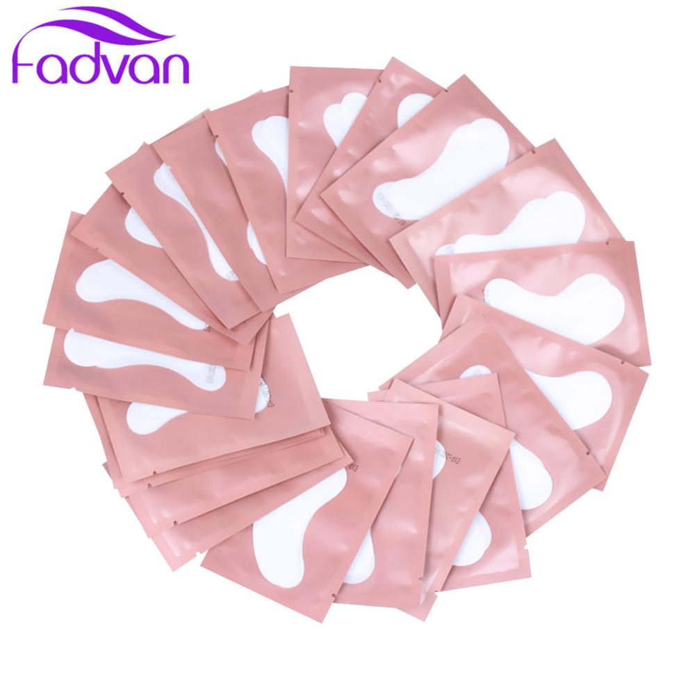 50 100 Pcs Eyelash Extension Pads Patches Under Eyes Lashes Pads Lash Extension Paper Patches Eye Tips Sticker Patches Wraps in False Eyelashes from Beauty Health