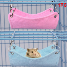 Hammock Pet Hamster Rat Parrot Ferret Hamster Hanging Bed Cushion hamster House Cage accessories for hamsters 1pc hamster hanging house hammock cage sleeping nest pet bed rat hamster toys cage swing pet banana design small animals