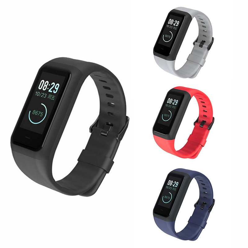 Fashion Sport Man Silicone Strap Bracelet smart Watch Band Buckle Wristbands Accessories for Huami Midong <font><b>Amazfit</b></font> <font><b>COR</b></font> <font><b>2</b></font> / A1713 image