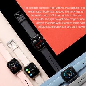 Image 2 - SENBONO P8 2020 GTS Women Men Smart Watch IP67 Waterproof fitness tracker Heart Rate Blood Pressure Monitor Smartwatch