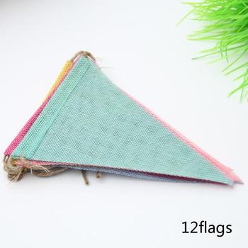 Garland Colorful Jute Flags 4