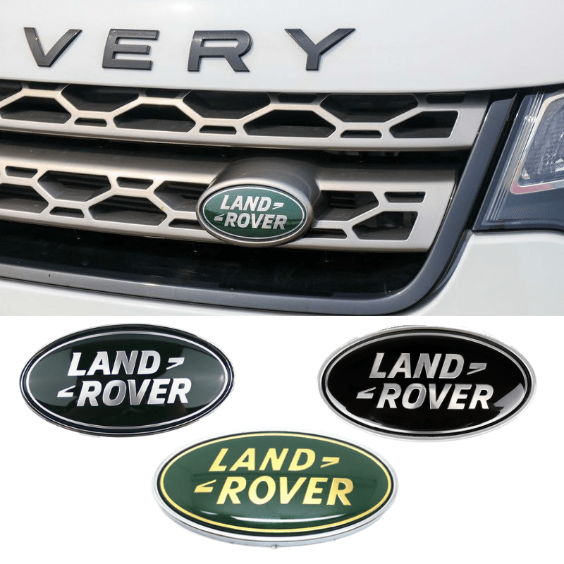 Front Grille Tail Trunk Emblem For  Discovery Range Rover Evpque Defender 3 4 Velar Freelander Sport Auto Decoration