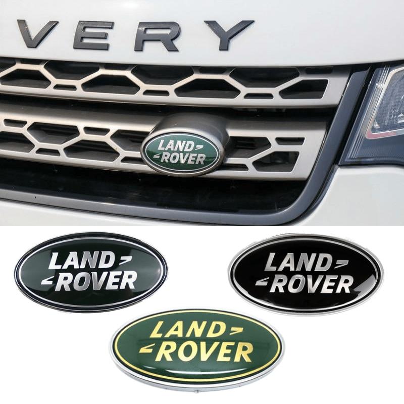 Front Grille Tail Trunk Emblem For  Discovery Range Rover Evpque Defender 3 4 Velar Freelander Sport Auto Decoration