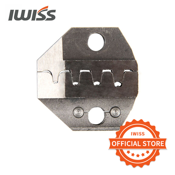 IWISS Wire-electrode Cutting Die Sets for SN-2549/SN-48B/SN-28B Ratchet Crimping Plier Hand Crimper Tools sn 2549 sn 28b sn 01bm crimping plier for ph 2 0 2 5 xh jst servo connector plug d sub connector multi tools crimper plier