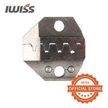 Наборы пресс форм IWISS для резки проволочных электродов, для ручных обжимных плоскогубцев с трещоткой, с храповым механизмом, для использования в качестве ручных инструментов