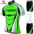 X-Tiger 2019 Pro Набор Джерси для велоспорта неоновый зеленый MTB гоночный велосипед одежда летняя одежда для горного велосипеда комплект одежды дл...