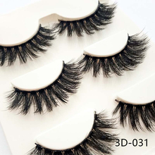 3pairs Lashes QSTY False Eyelashes Natural Multipack High Quality Handmade Winged Upper Fashion