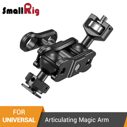 SmallRig Aluminum Alloy Quick Release Articulating Magic Arm With 1/4'' Screw and Cold Shoe To Mount Monitors - 2394