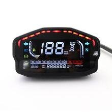 Светодиодный ЖК спидометр для обычного мотоцикла цифровой одометр
