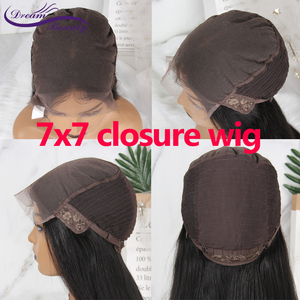Image 5 - Brazilian Wig 4x4/5x5/7x7 Lace Closure Wig Curly Human Hair Wig Preplucked Human Hair Wigs Pre Plucked Hairline Dream Beauty