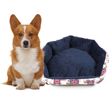 S/M/L Size Pet Dog Warming Bed Dog House Soft Material Nest Dog Baskets Fall And Winter Warm Kennel For Cat Puppy cartoon kennel pet supplies s m l size animal house circular cartoon dog kennel cat kennels all removable and washable dog mat