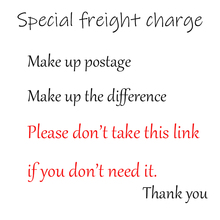 Make Up Postage Make Up The Difference Shipping Link Freight Charge