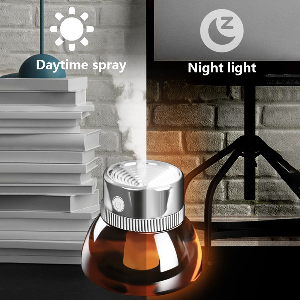 Lens Humidifier Usb With Night Light Mini Retro Ins Nordic Style Home Office Humidifier Professional Fashion Portable