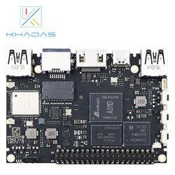 Khadas vim3 sbc: 12nm amlogic a311d soc com 5.0 partes superiores npu | 2 gb + 16 gb (modelo básico)