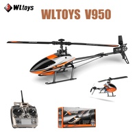 Original WLtoys V950 RC Drone 2.4G 6CH 3D 6G Mode Brushless Motor Powerful RTF BNF RC Quadcopter Toys For Kids Gifts