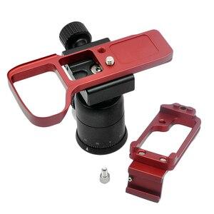 Image 5 - 소니 A9 A7 마크 III A7III A7RIII A7R3 퀵 릴리스 L 플레이트 카메라 브래킷 홀에 대한 핫 슈와 핫 3c 수직 촬영 손 그립