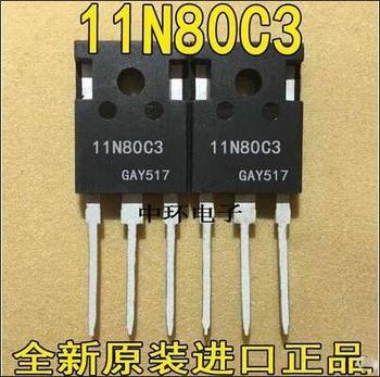 Envío gratis 10 Uds SPW11N80C3 11N80C3 a-247