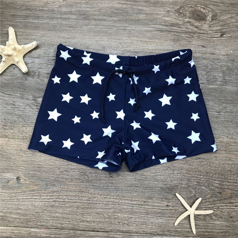 Boys Beach Wear Kids Trunks 2020 Children Swimsuit Boys Swimwear Short Swimming Trunk Star Print Clothes Bathing Suit A349